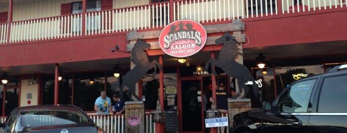 Scandals Saloon is one of Tempat yang Disukai M.