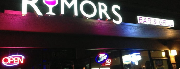Rumors Bar Lounge is one of Best of Fort Lauderdale.