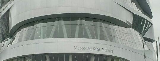 Mercedes-Benz Museum is one of 建築マップ ヨーロッパ.