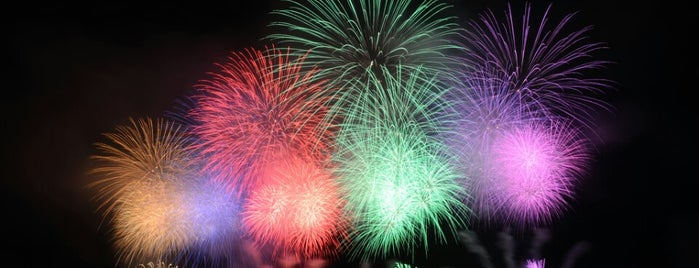 Nagaoka Fireworks Festival is one of Kazuo : понравившиеся места.