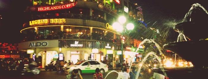 Vòi phun nước Hồ Gươm (Ho Guom Fountain) is one of Hanoi.