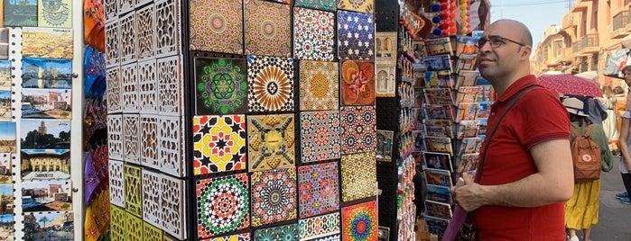 La Kasbah is one of Marrakech.