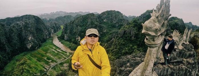 Núi Ngoạ Long (Lying Dragon Mountain) is one of Ninh Binh.