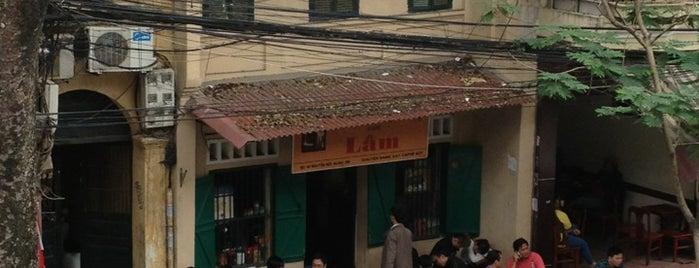 Cafe Lâm is one of Saigon.