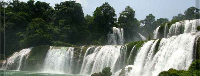 Ban Gioc Waterfalls is one of Jingyuan : понравившиеся места.
