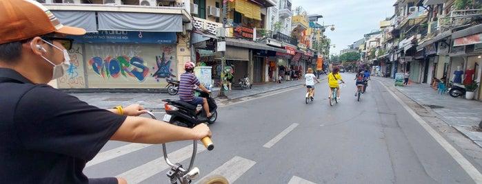 Phố Hàng Đào is one of Hanoi.