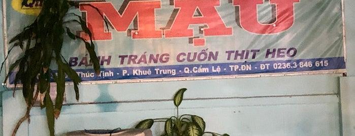 Bánh Tráng Cuốn Thịt Heo Mậu is one of VN Danang.