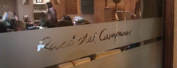 Racó del Campanar is one of Restaurants a Sabadell.