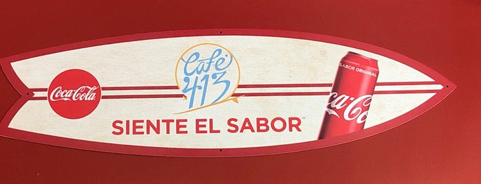 Café 413 is one of Rincon.