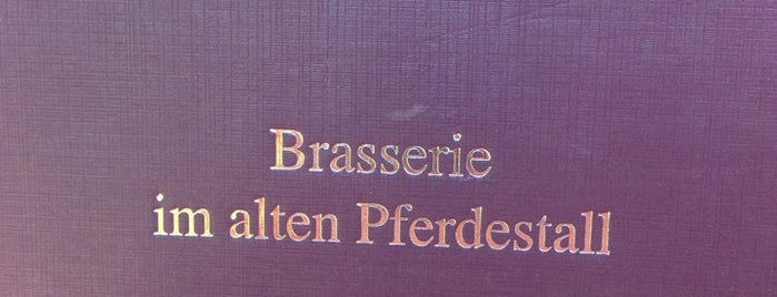 Brasserie im alten Pferdestall is one of Christoph's Liked Places.