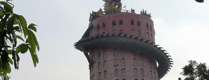 Wat Samphran is one of Bangkok.
