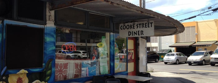 Cooke Street Diner is one of chawaii.