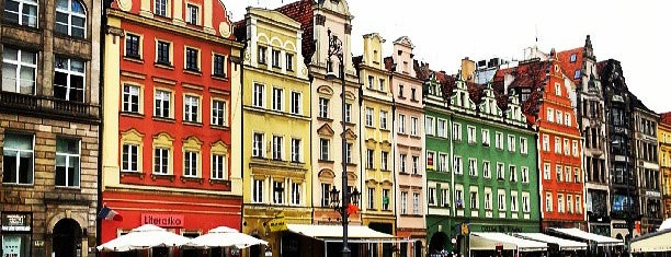 Rynek is one of Wroclaw City Guide.