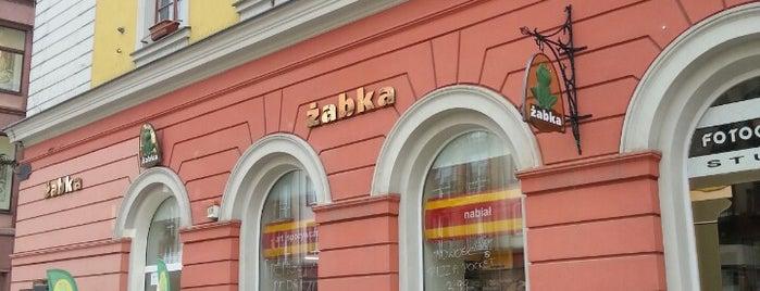 Żabka is one of Julia : понравившиеся места.