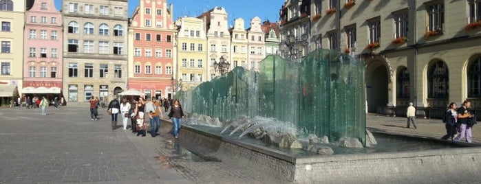 """Fontanna """"Zdrój"""" is one of Wroclaw to see/eat/drink (Poland)."""