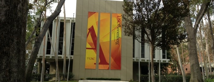 USC Annenberg School for Communication and Journalism (ASC) is one of Meus lugares.