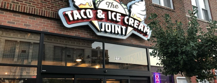 The Taco & Ice Cream Joint is one of สถานที่ที่ Marc ถูกใจ.