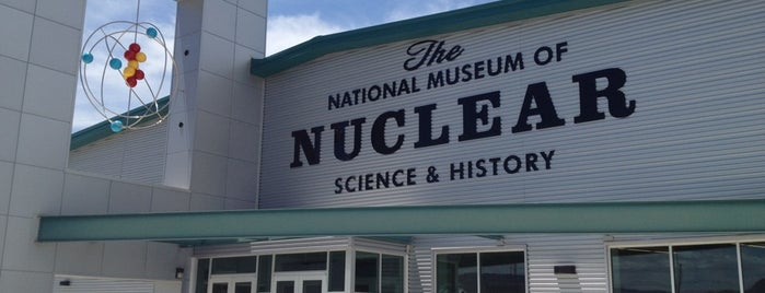 The National Museum Of Nuclear Science And History is one of Nancy's Wonderful Places/Games/	Clothes ect....