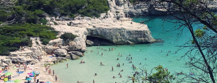 Cala Mitjana is one of plages.