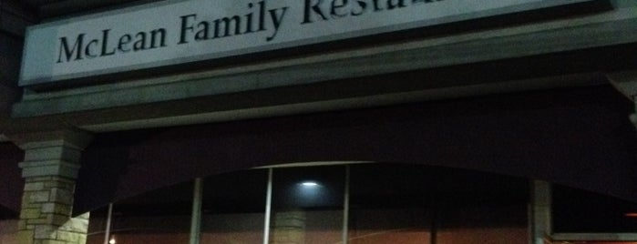 McLean Family Restaurant is one of McLean/Tysons general area.