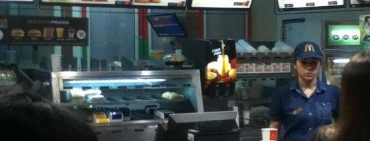McDonald's is one of Comí en:.