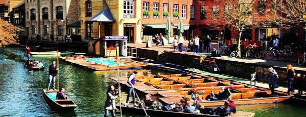 Scudamore's Quayside Punting Station is one of Best places.