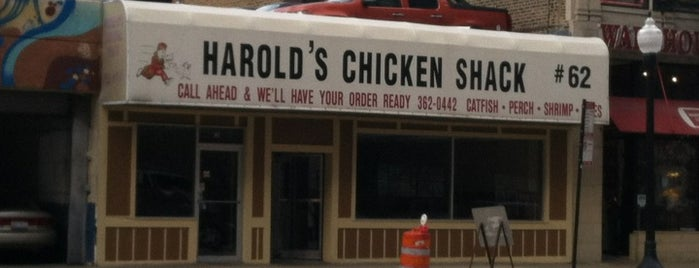 Harold's Chicken Shack is one of effffn's Chicago list.
