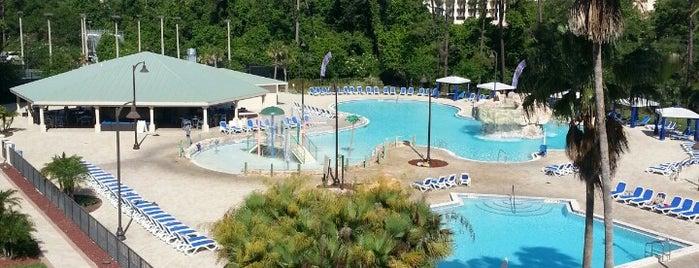 Wyndham Lake Buena Vista Resort is one of Disney Springs.