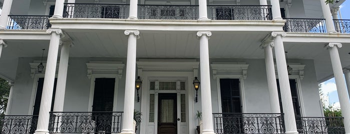 Buckner Mansion is one of New Orleans.