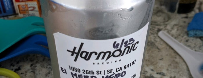 Harmonic Brewing is one of SF Bay Area Breweries and Distilleries.