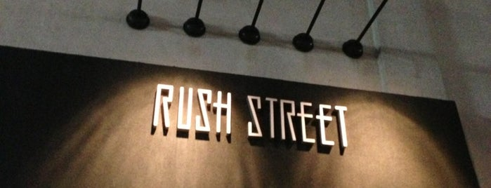 Rush Street is one of Best Places for a Dance Party.