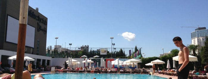 Hillside City Club Swimming Pool is one of Best Beaches and Pools in Istanbul.