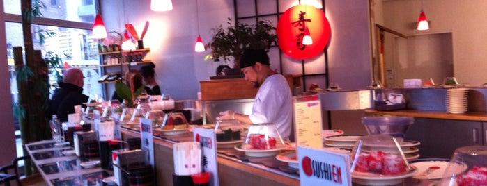 Sushi En is one of Posti salvati di Eric T.