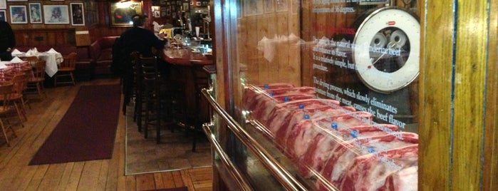 Gallaghers Steakhouse is one of Eater's Top 10 Classic Steakhouses in New York.