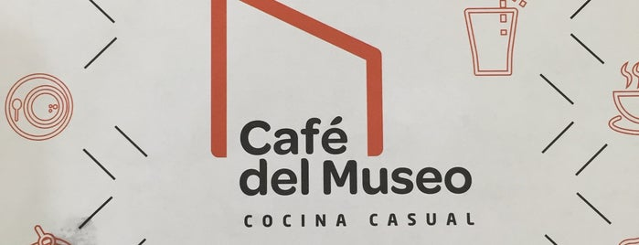 Café del Museo is one of Lugares favoritos de Santiago.