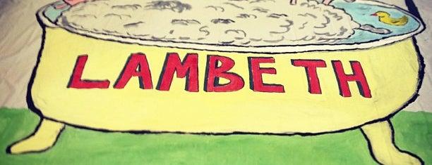 Lambeth is one of สถานที่ที่ Wendi ถูกใจ.