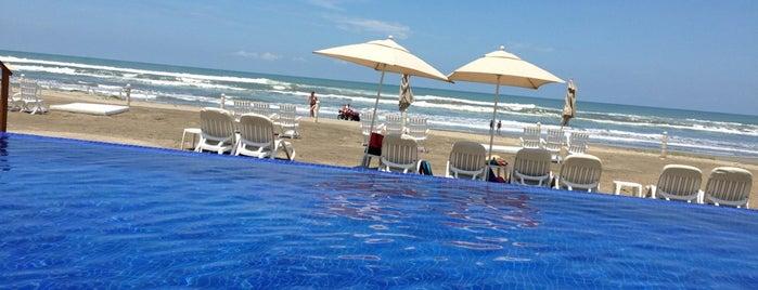 Marina Diamante Beach Club is one of Aca.