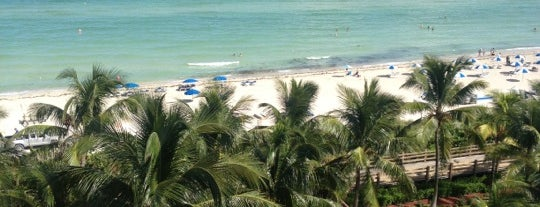 Holiday Inn Miami Beach-Oceanfront is one of Onde estive.