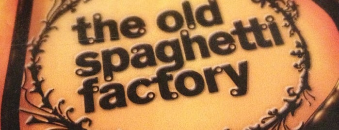 The Old Spaghetti Factory is one of San Diego.