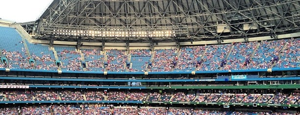 Rogers Centre is one of Baseball Stadiums To Visit....