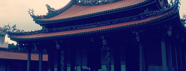 孔廟 Confucius Temple is one of Taipei Tourist Spots.