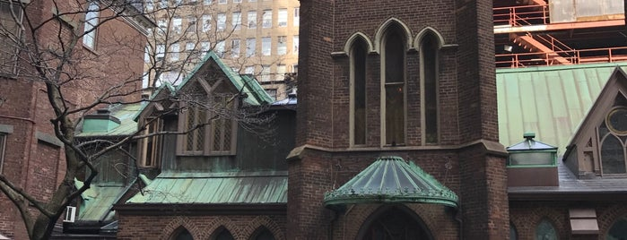 The Little Church Around The Corner is one of Atlas Obscura NYC.