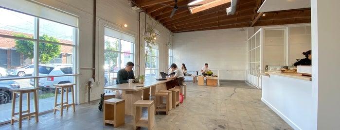 Maru Coffee is one of Los Angeles VII.