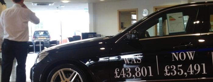Inchcape Mercedes-Benz of Nottingham is one of สถานที่ที่ Scott ถูกใจ.
