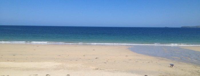 Carbis Bay Beach is one of Lugares favoritos de Gamze.