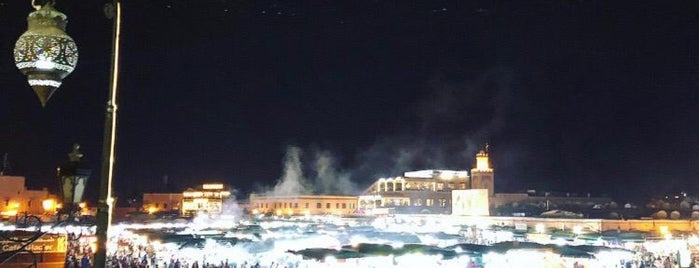 Place Jemaa el-Fna is one of สถานที่ที่ 🌸Noodle ถูกใจ.