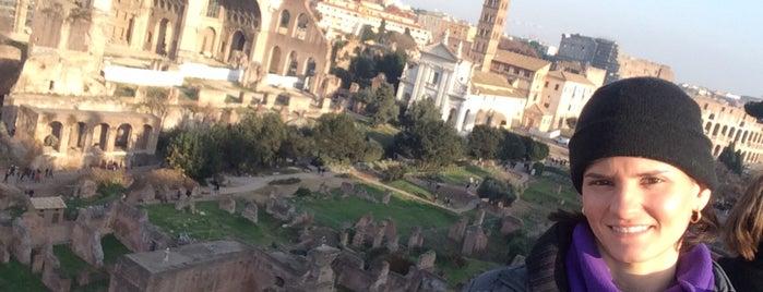 Forum Romanum is one of Orte, die Monica gefallen.