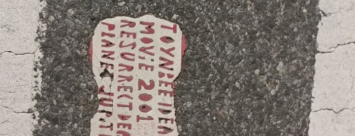 Toynbee Tile is one of Atlas Obscura NYC.