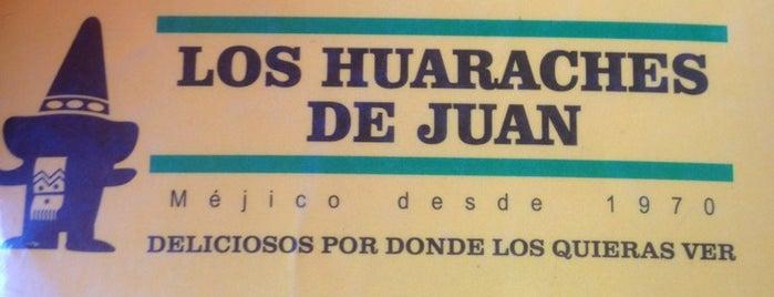 Los Huaraches de Juan is one of lugares para comer.