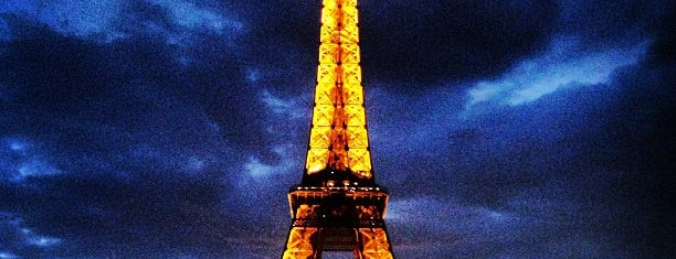 Eiffelturm is one of Paris - je t'aime.